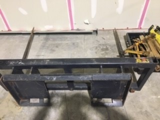 BDS Skid Steer Mount Double Bale Spear